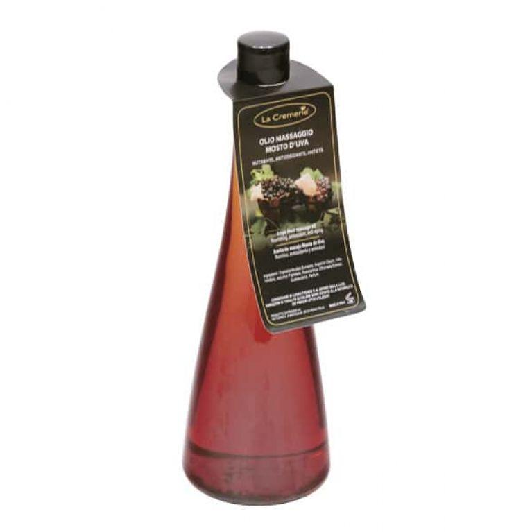 olio massaggio mosto uva