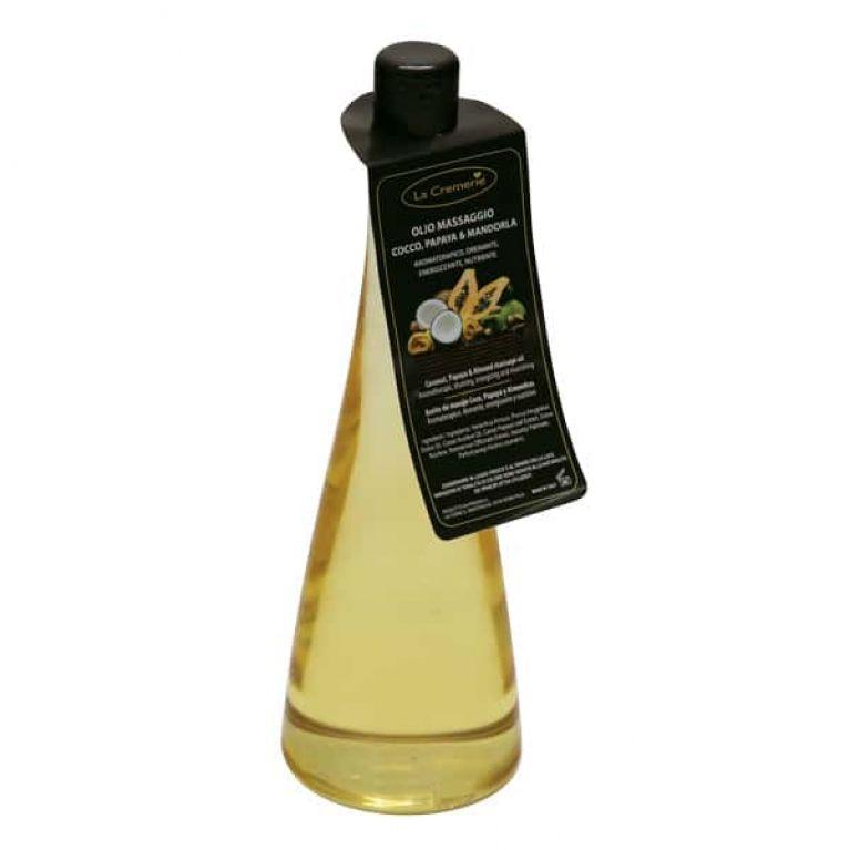 olio massaggio cocco