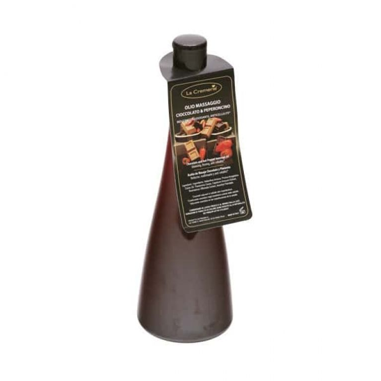olio cioccolato e peperoncino