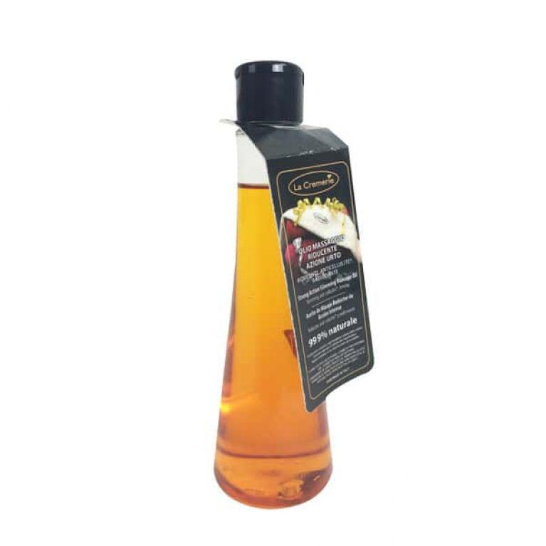 olio massaggio riducente