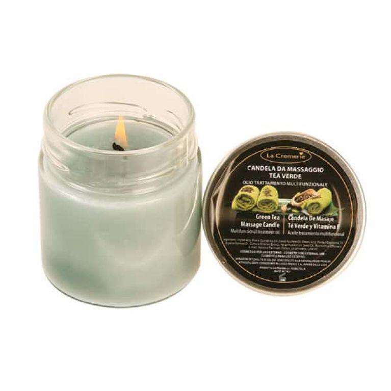 candela massaggio tea verde